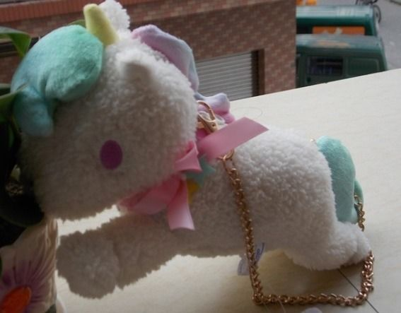 sanrio little twin stars Unicorn Purse