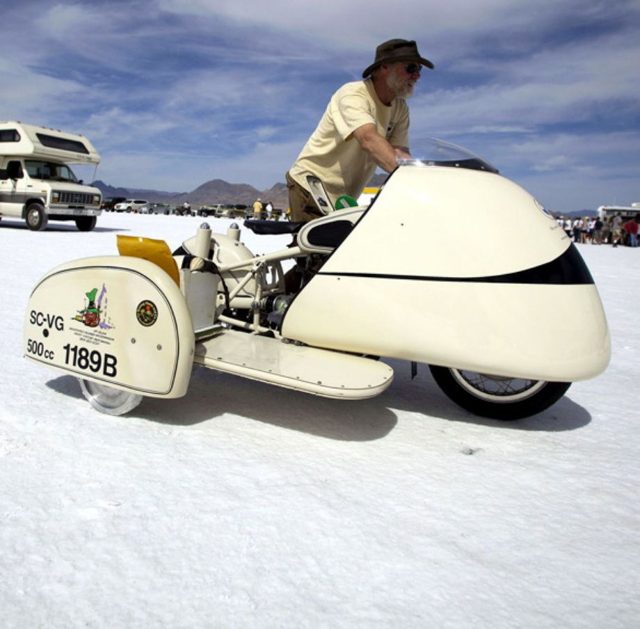 Bonneville speed is flat out | Y 3 / B.& G. | Pinterest | Sidecar ...