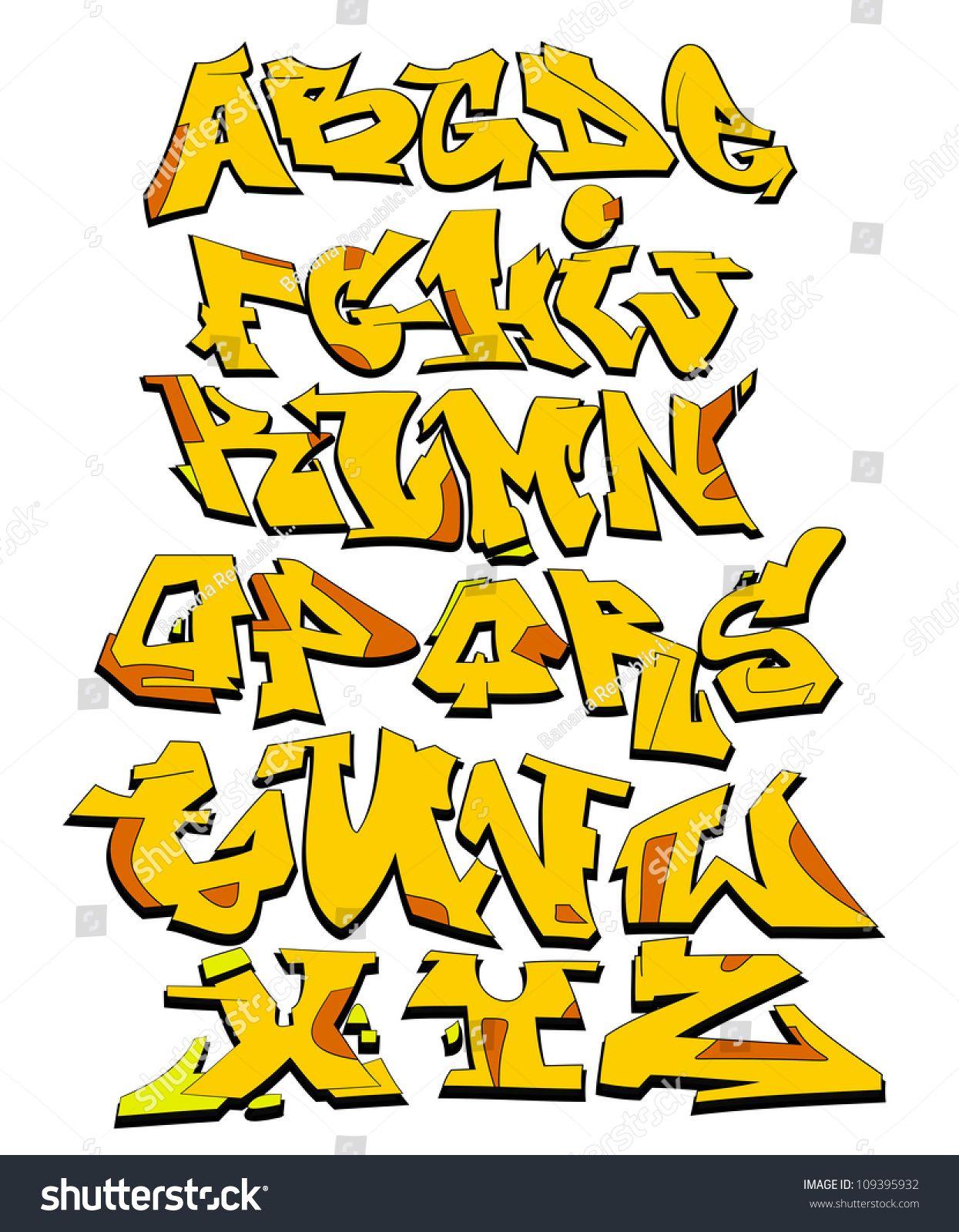 graffiti font alphabet urban art design graffiti buchstaben in 2019 pinterest graffiti. Black Bedroom Furniture Sets. Home Design Ideas