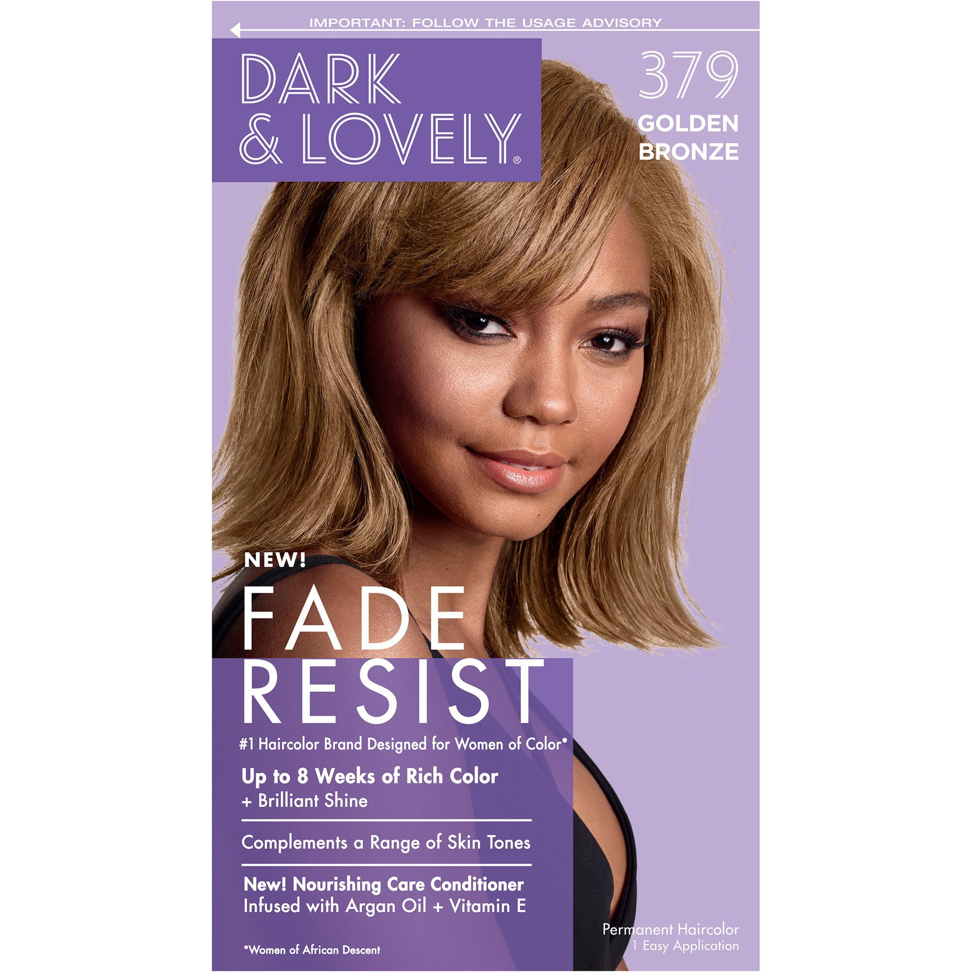 Softsheen Carson Dark And Lovely Fade Resist Rich Conditioning Hair Color Permanent Hair Dye 377 Sunkissed Br In 2020 Hair Color Bronze Hair Color Permanent Hair Dye