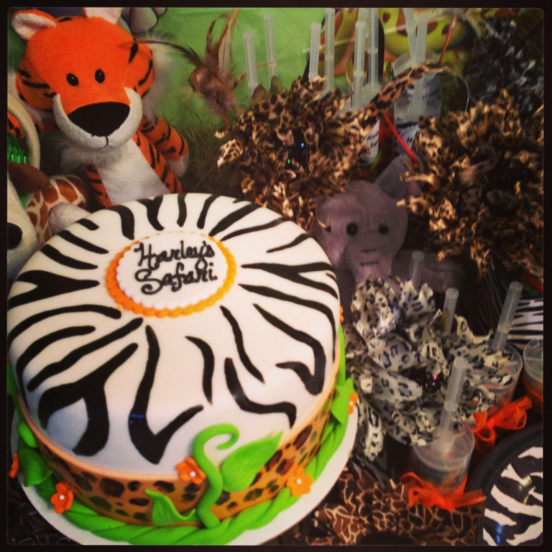Best 25+ Safari Birthday Cakes Ideas On Pinterest