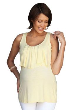 Re-Make this Nursing Top with a longer drape in the front.