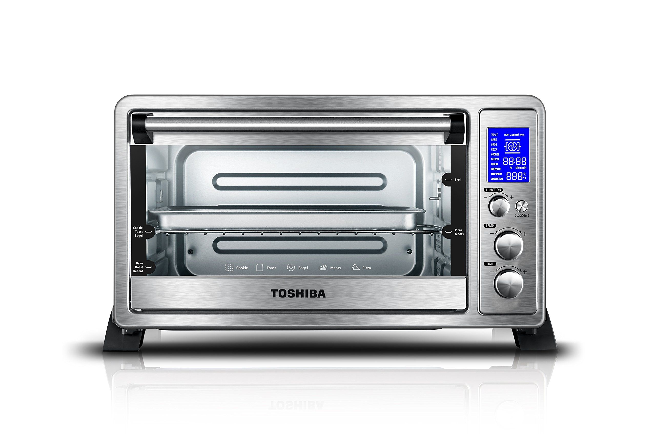 Toshiba AC25CEWSS Digital Oven with Convection/Toast/Bake