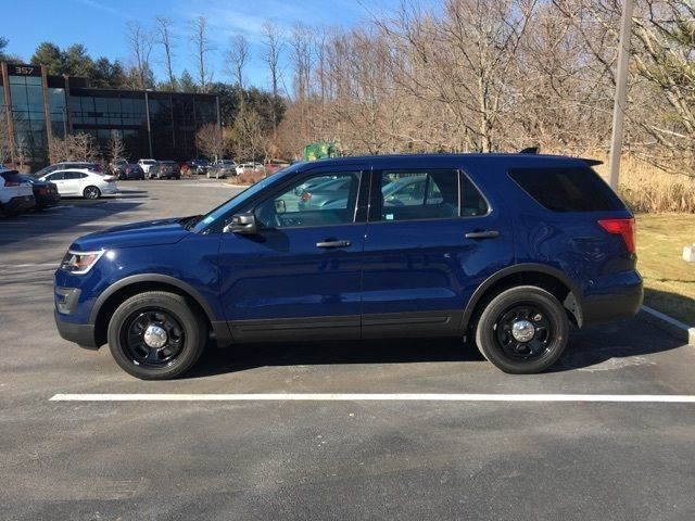 2016 Ford Explorer Police Interceptor Interiores