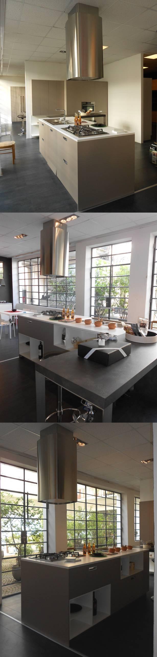 Cucina CESAR design modello KORA in finitura laminato opaco colore ...