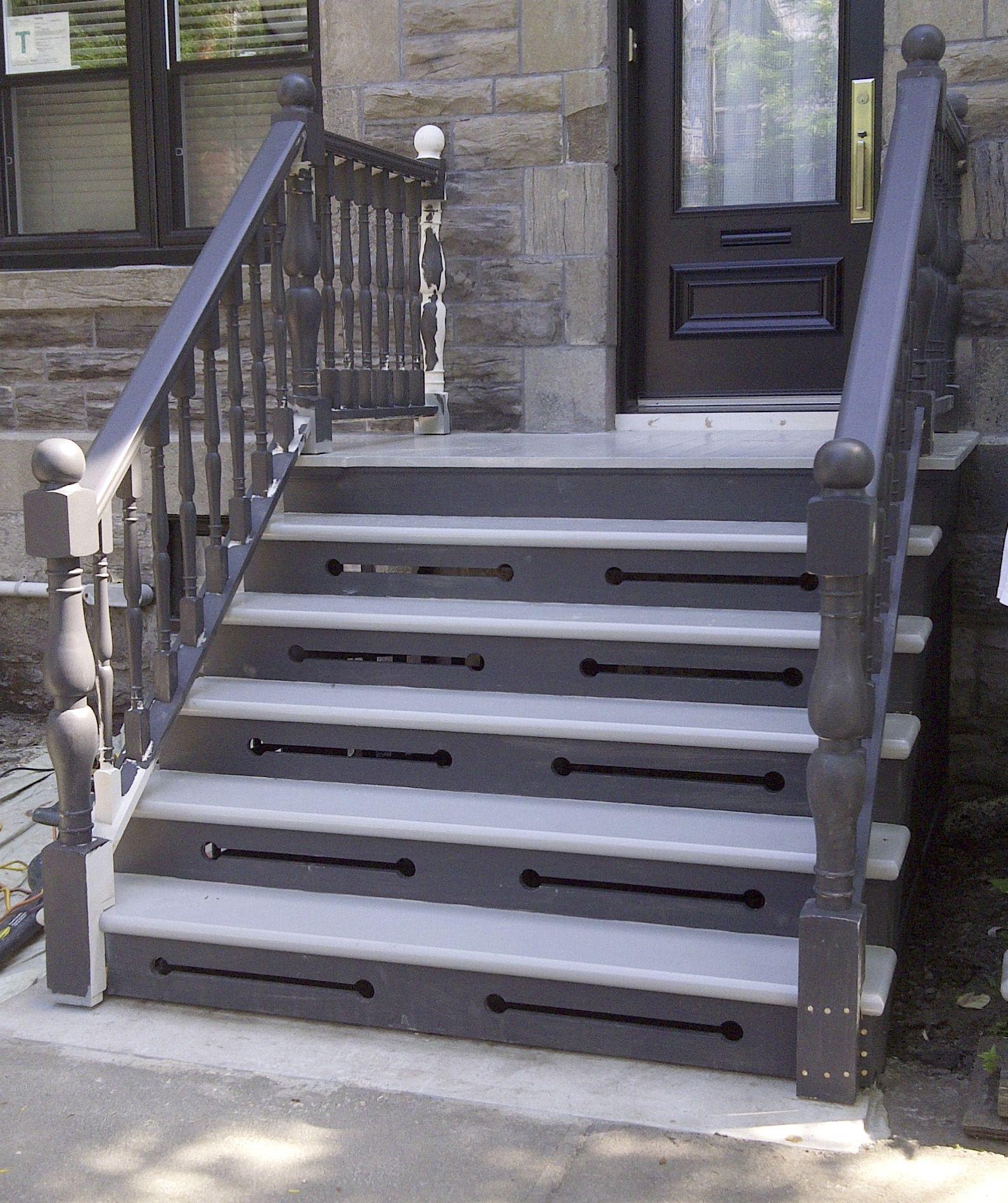 Escalier Interieur Et Exterieur Menuiserie Avec Images
