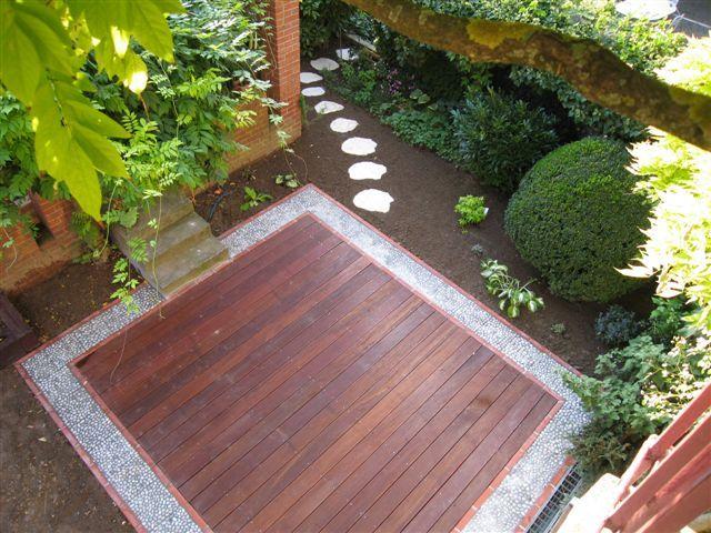 terrasses bois ou dalles scnes de jardin votre paysagiste en alsace mulhouse et colmar - Idee D Amenagement De Terrasse