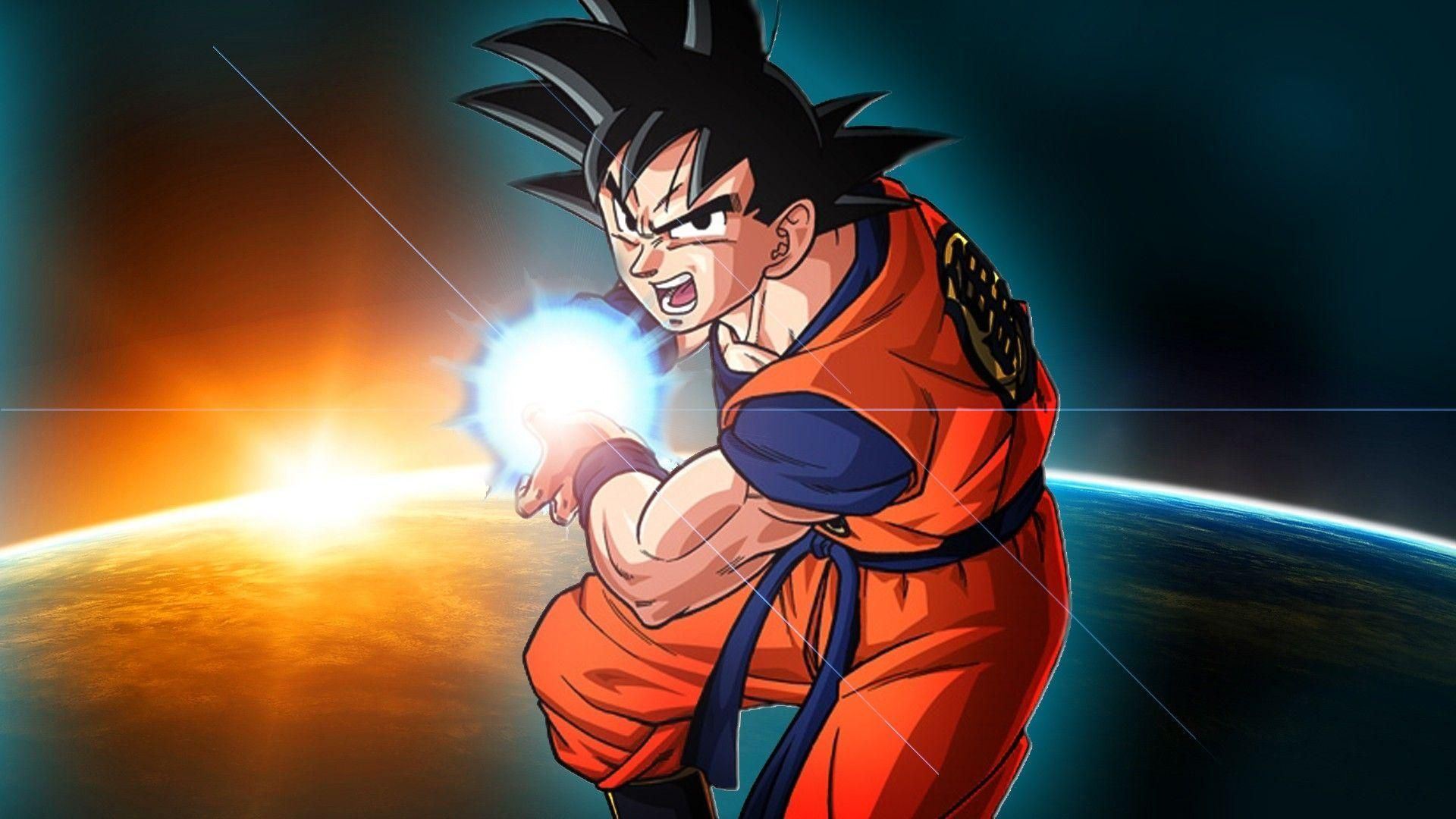 Wallpaper Dragon Ball Super Goku Di 2020