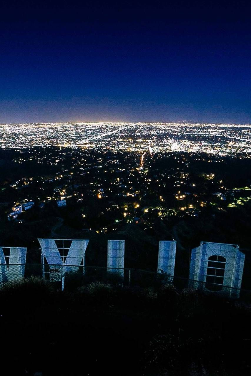 Sunset/night hike to Hollywood Sign in 2019 | Hollywood ...