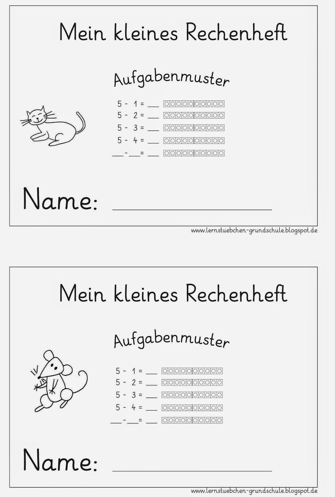 Lernstübchen: minus rechnen ZR 10 (5) | Bildung | Pinterest | Mathe ...