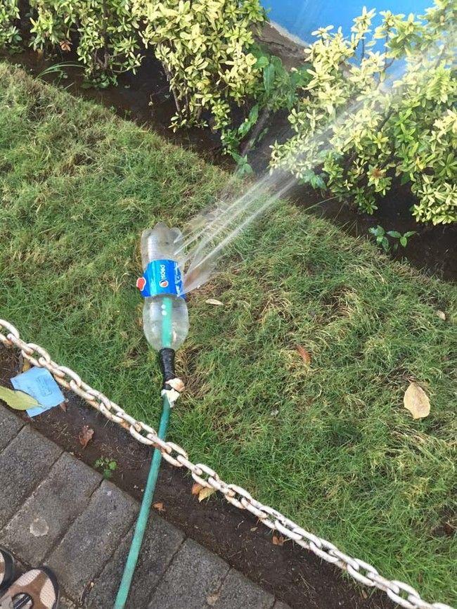 Grosser Wasser Spass Fur Die Kinder Im Garten Rasensprenger Selbst
