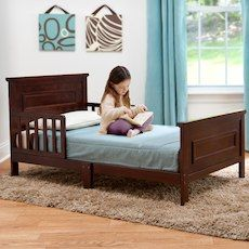 Babies R Us Next Steps Toddler Bed Espresso
