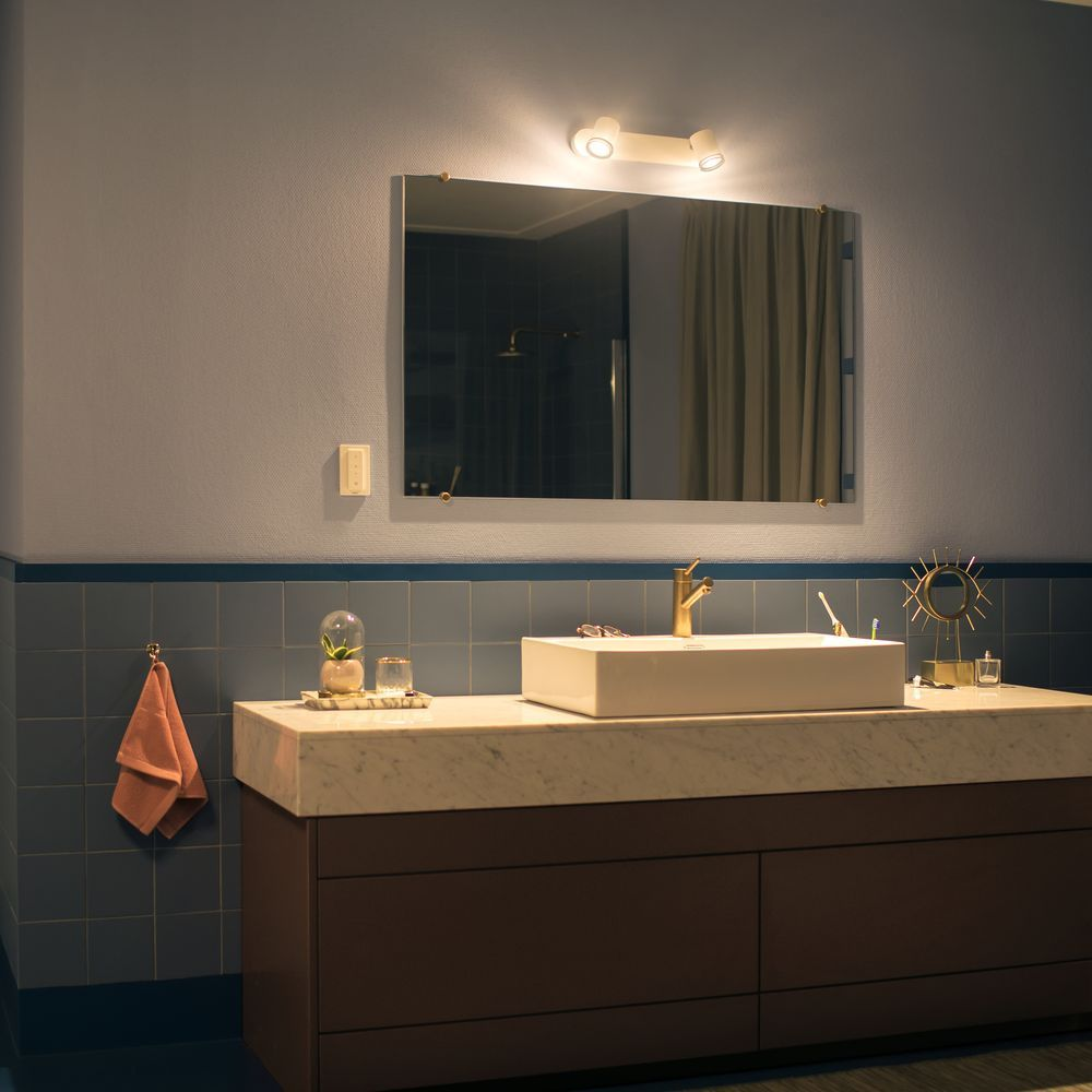 Philips Hue Bluetooth White Ambiance Spot Adore in Weiss mit ...