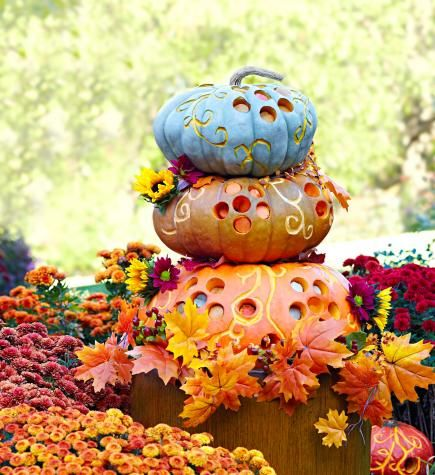 50 Pumpkin Decorating Projects Holidays, Halloween ideas and