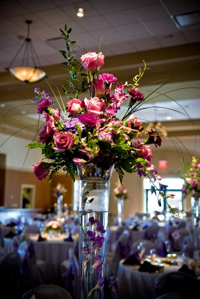 Beautiful Centerpiece For A Wedding At The Stunning Savannah Center