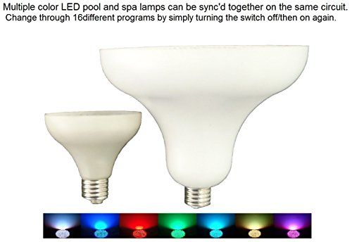 252 Led 12 Volt Color Changing Replacement Swimming Pool Light Bulb 252 Led 12 Volt Color Changing Replacement Swimming Pool Light Bulb A One Year Warranty Is