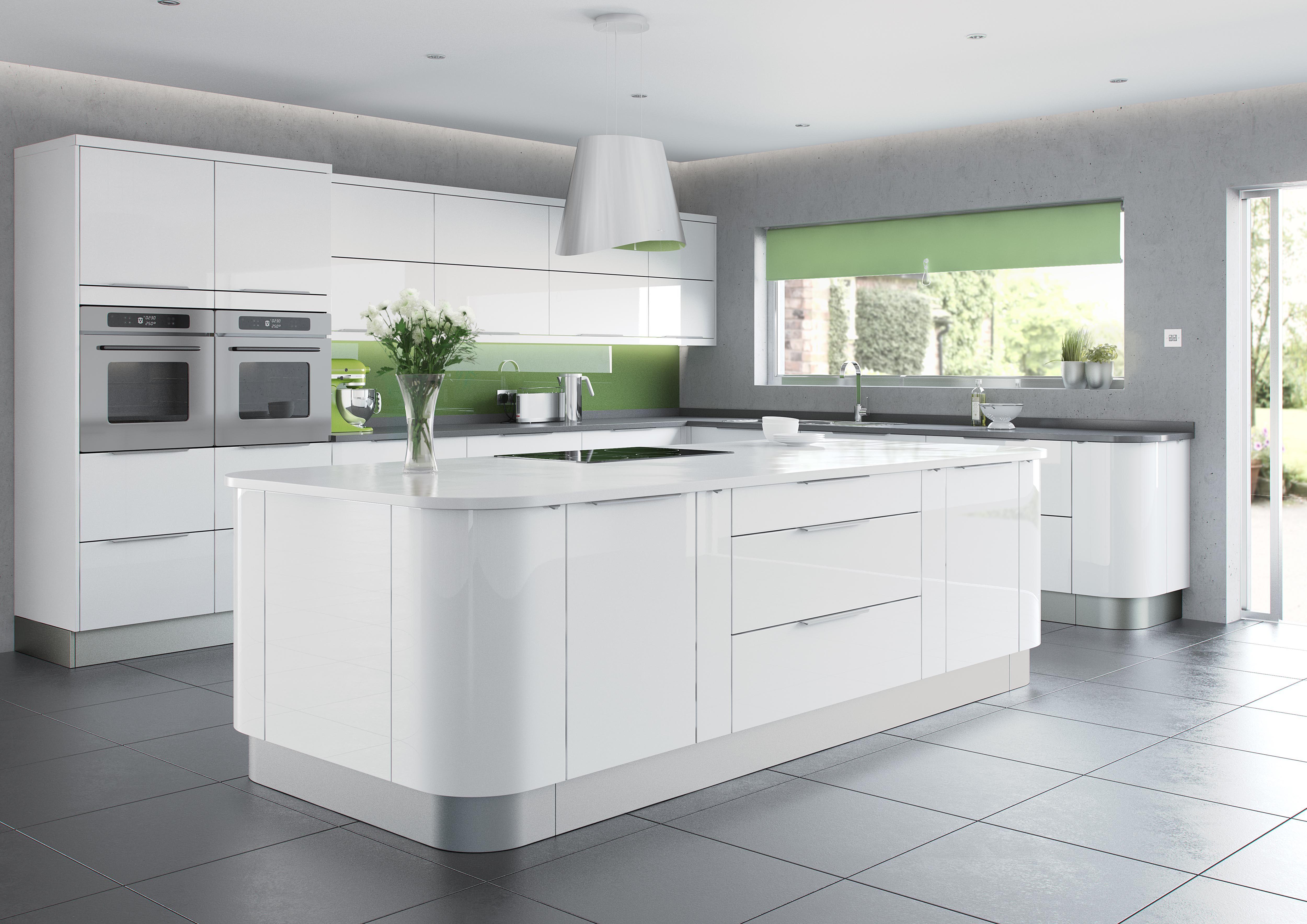 Pg3 Kitted Kitchens Kitchen Design Trends White Kitchen Units