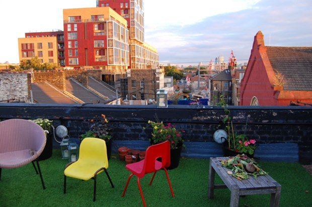 Dalston Roof Park Hackney London Bar Reviews Designmynight Londen Park Plaatsen