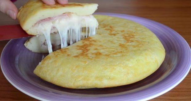Tortilla De Papas Rellena Con Jamon Y Queso Recetas Para Cocinar Recetas Deliciosas Recetas De Cocina