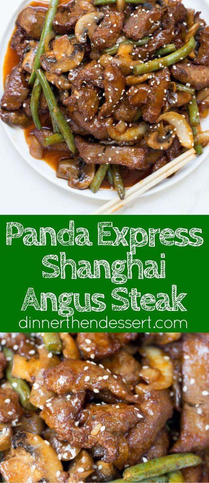 Panda Express Shanghai Angus Steak Is A Quick Stir Fry Dish With