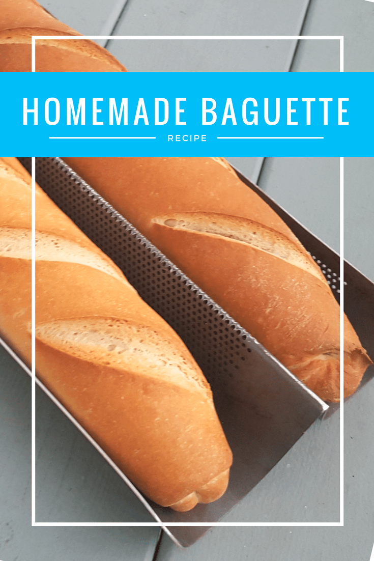 There is nothing better than bread fresh from the oven. This easy baguette recipe creates the perfect loaf every time. Whether this is your first time playing with yeast or you're a seasoned baker, you'll fall in love with bread all over again after making this!