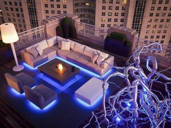 ▷ 1001+ Ideen für die moderne Terrassengestaltung | Neon ...