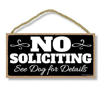 Honey Dew Gifts Dog Signs No Soliciting See Dog for Details 5 inch by 10 inch #fashion #home #garden #homedcor #plaquessigns (ebay link) #nosolicitingsignfunny Honey Dew Gifts Dog Signs No Soliciting See Dog for Details 5 inch by 10 inch #fashion #home #garden #homedcor #plaquessigns (ebay link)