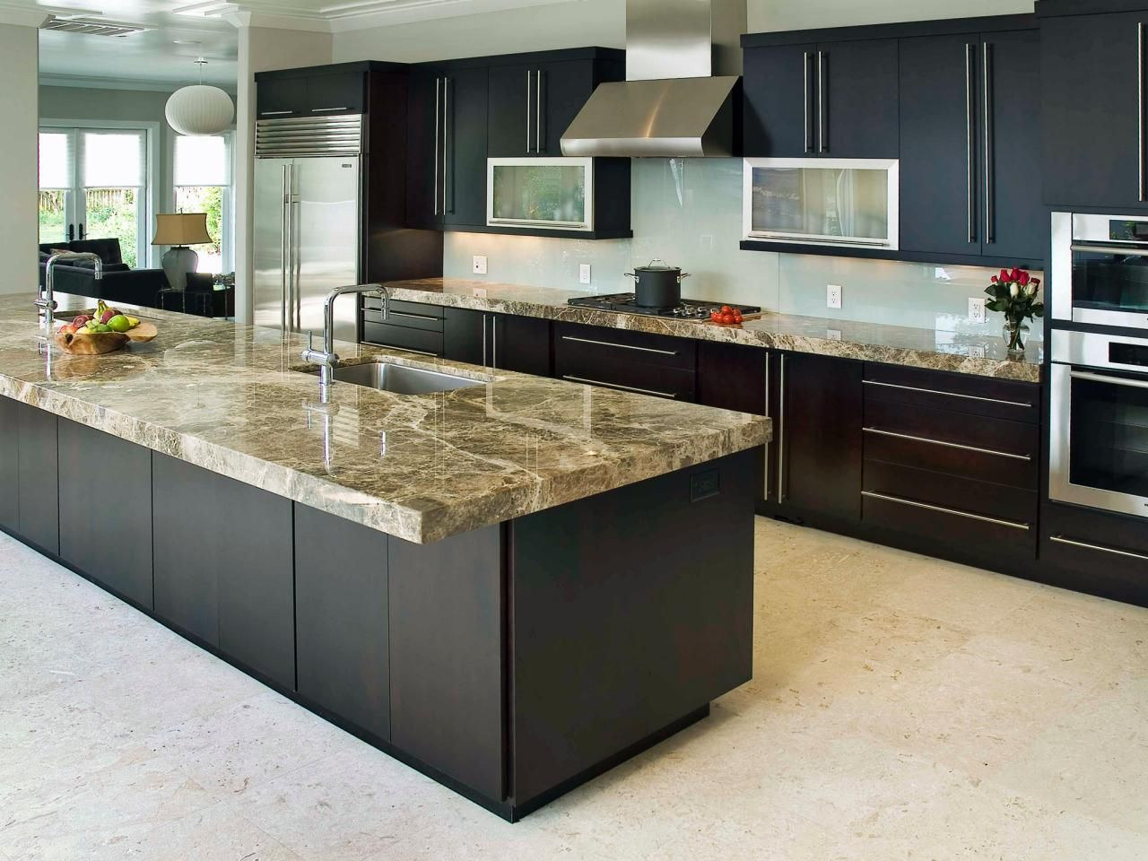 10 HighEnd Kitchen Countertop Choices Contemporary