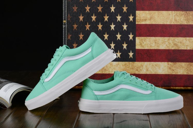 0bbd50ffed7f Super A Vulcanized Vans Vans Old skool Biscay Bay Mint Green 35-43 Counter  Simultaneous Scans 9  Vans