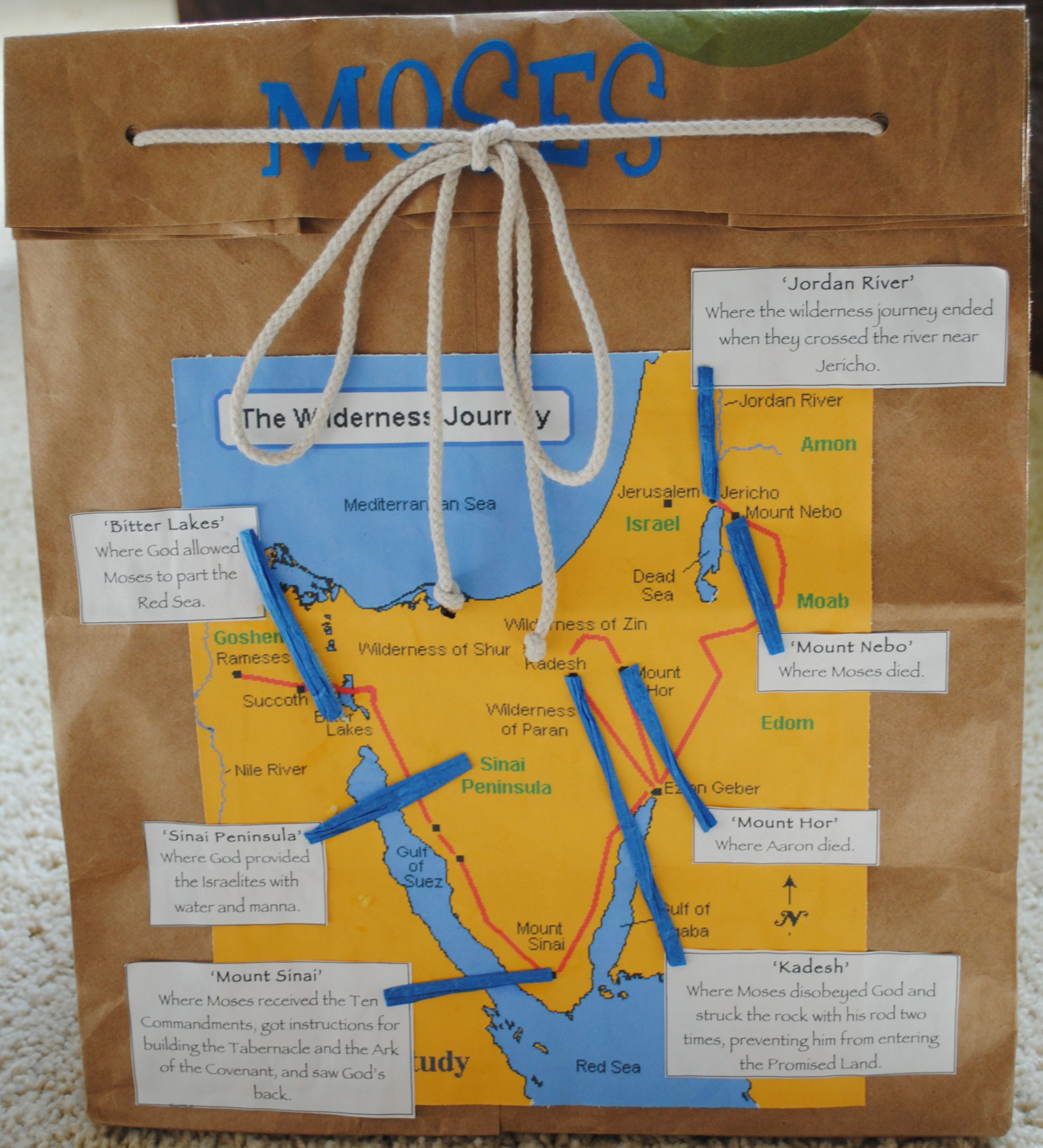 01 backpack the israelites journeyed through the wilderness for