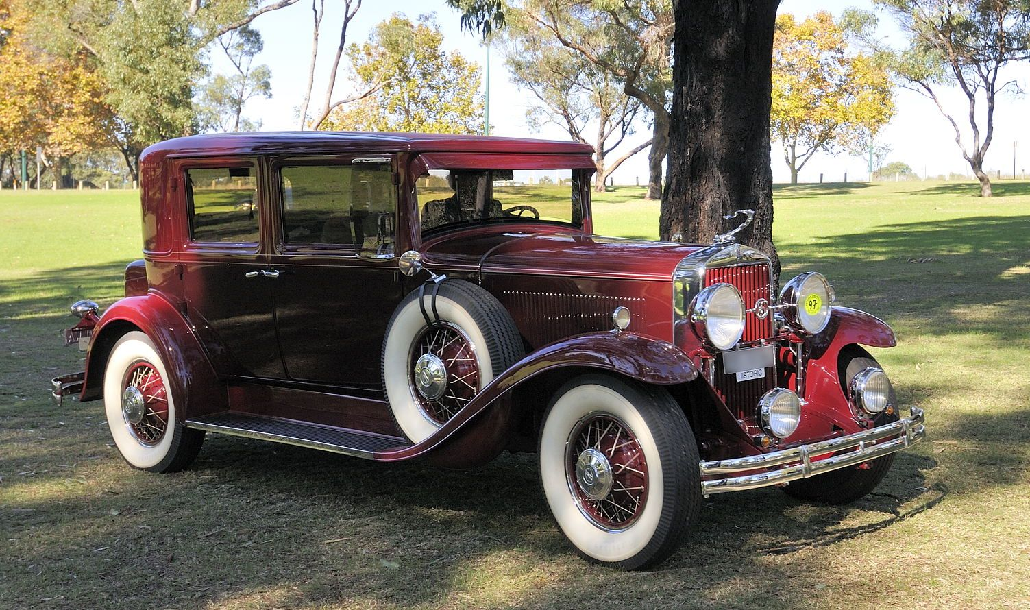 General Motors La Salle was brought onto the scene in 1927 once