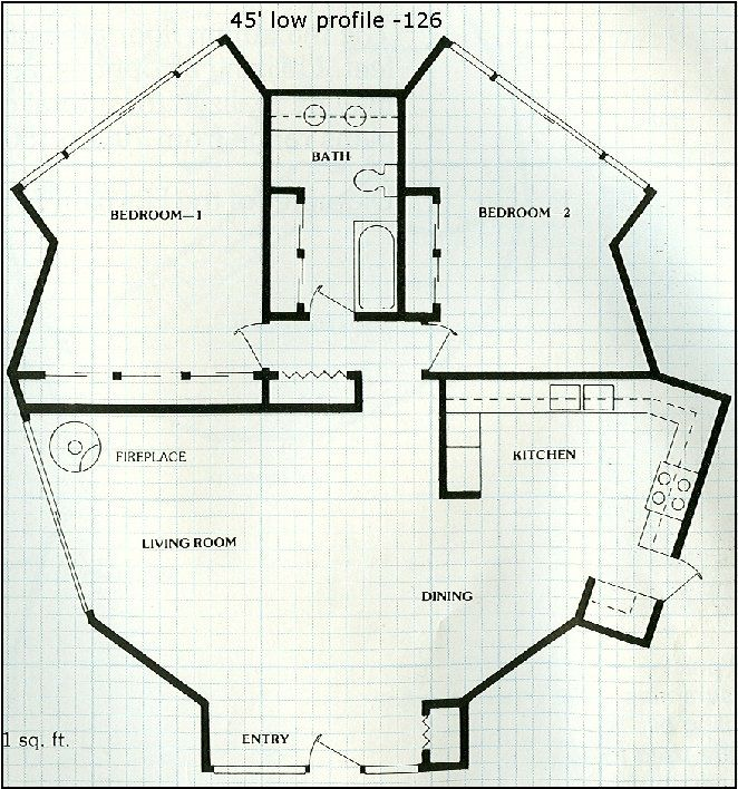 Geodesic Dome Template: Dome Home Plans Of Geodesic Dome Structures
