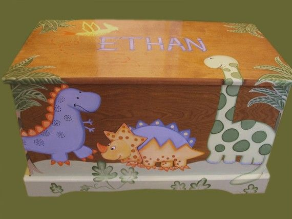 This Etsy Seller Has Amazing Custom Toy Boxes Torin39s