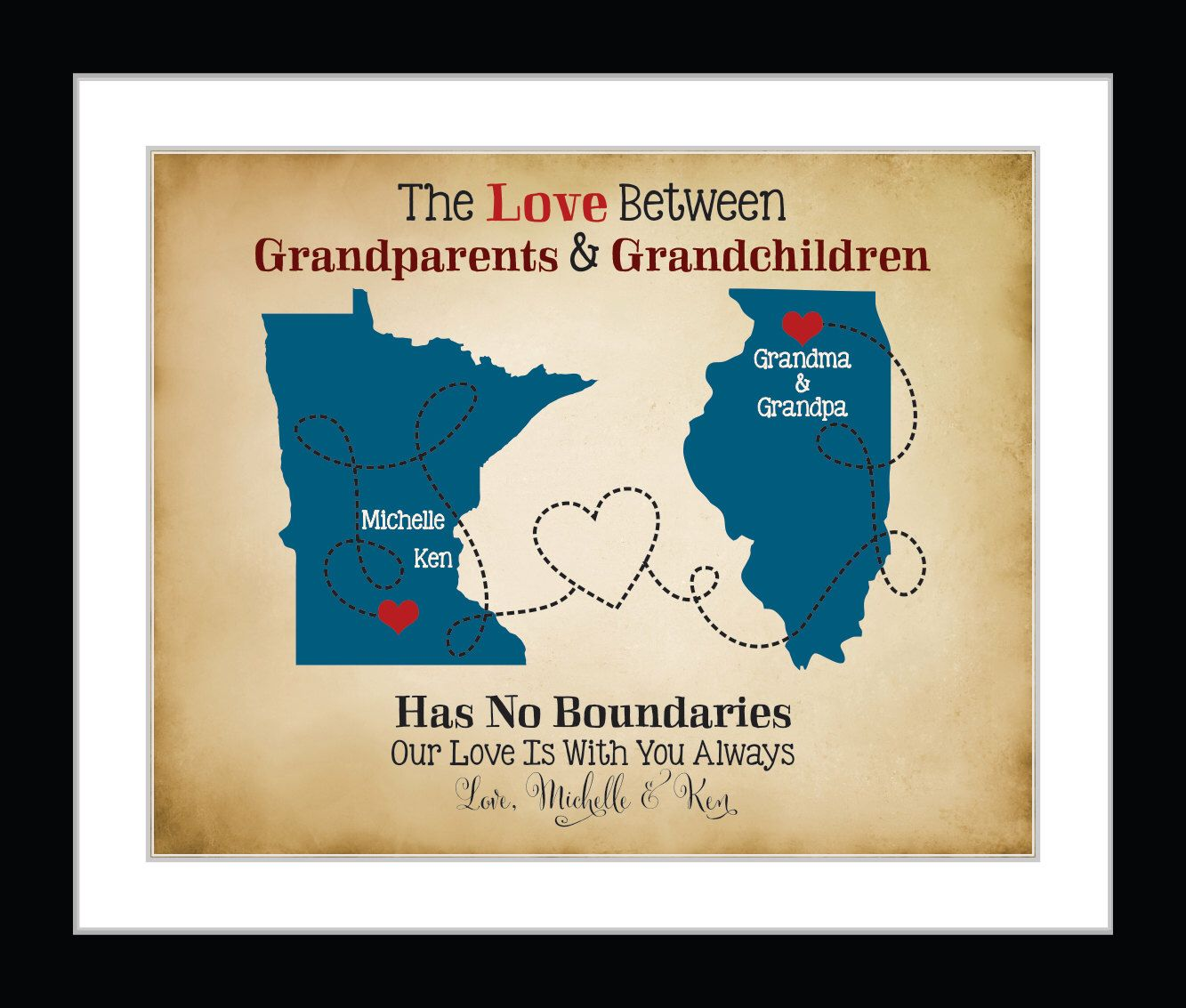 gift for grandparents personalized grandma gifts first time