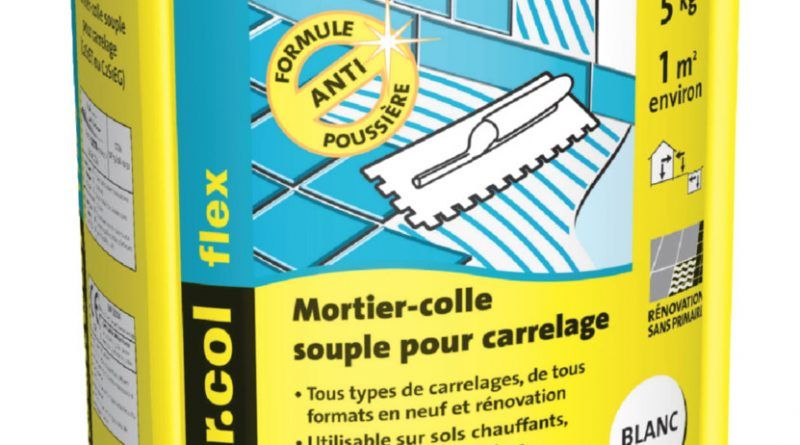 Colle Carrelage Weber Flex White Out
