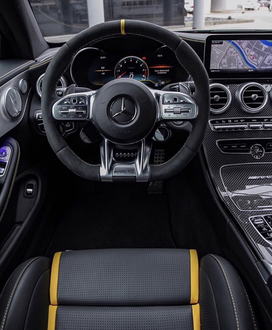 Amg C63s Coupe Interior With Images Mercedes Amg Mercedes Amg