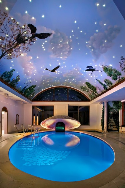 pool house ahhh dream house architecture design dream home pool area to get it you must dream a bigger dream way cool pool - Big Houses With Swimming Pools Inside