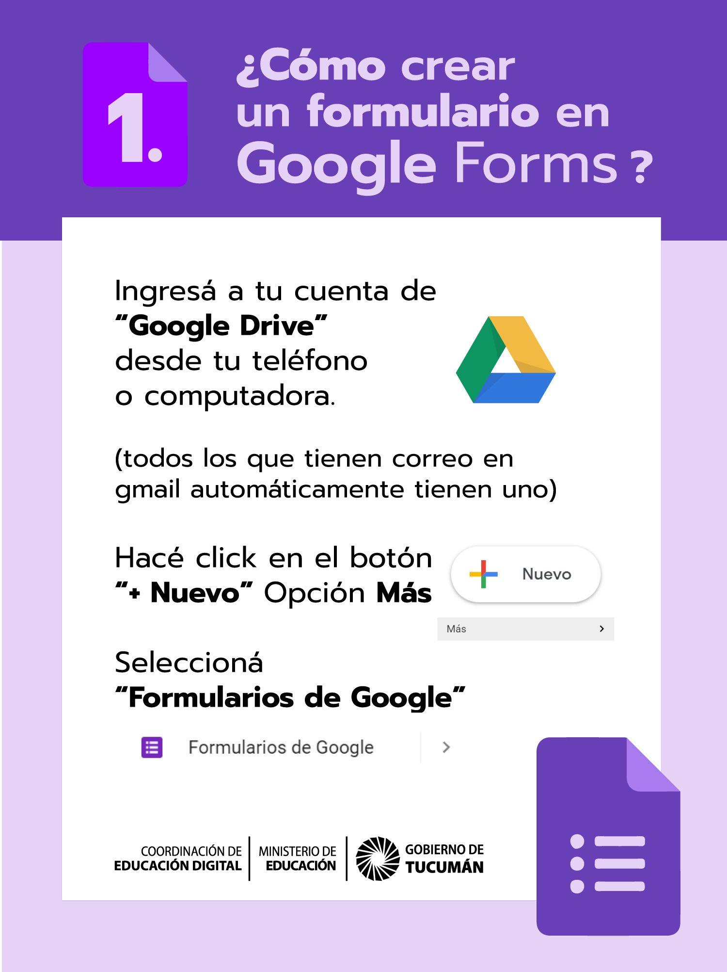 Cómo Crear Un Formulario En Google Forms Educacion Instagram Google
