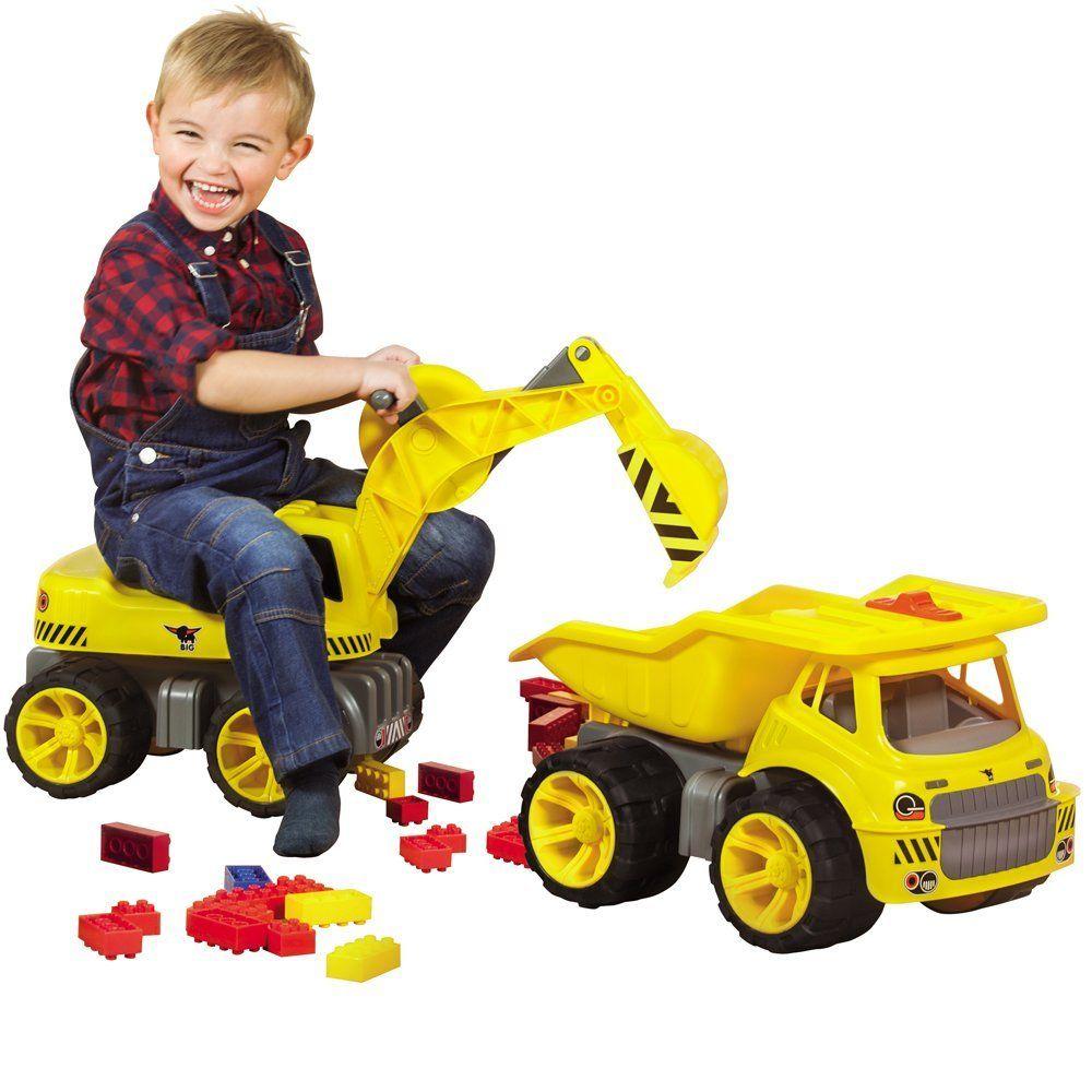 Bagger Spielzeug Sandkasten