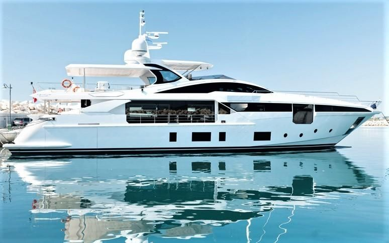 Iryna Azimut 2019 Grande 35 Metri 115 Yacht For Sale In Cyprus