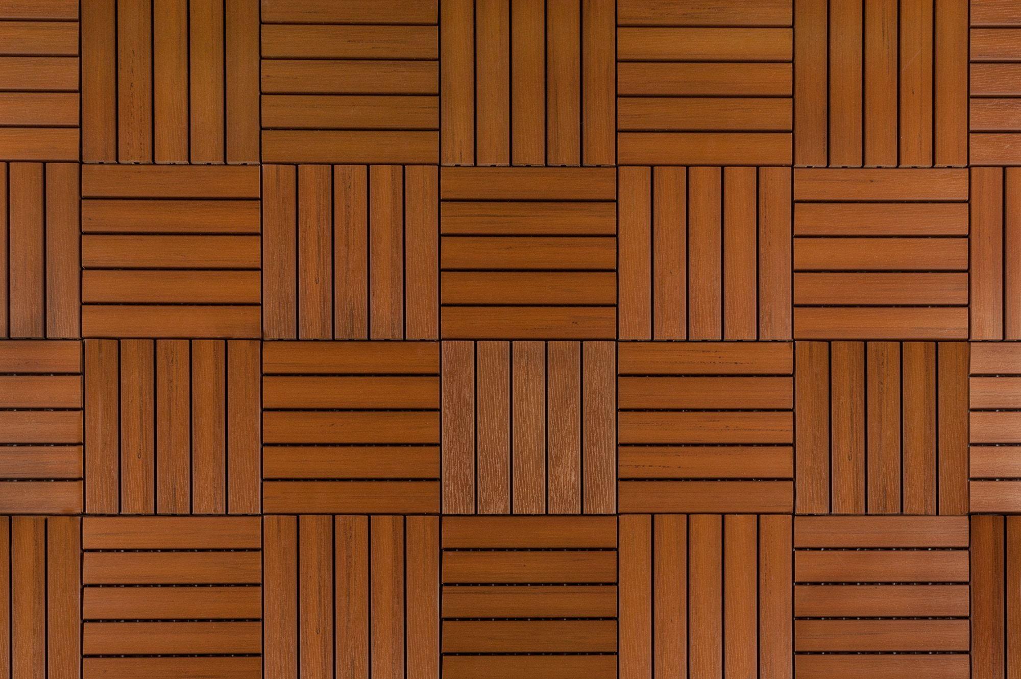 Builddirect 174 Kontiki Interlocking Deck Tiles Engineered Polymer Series