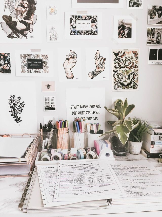 Pin by stefani mariah on home pinterest college desk organization diy and desks also rh