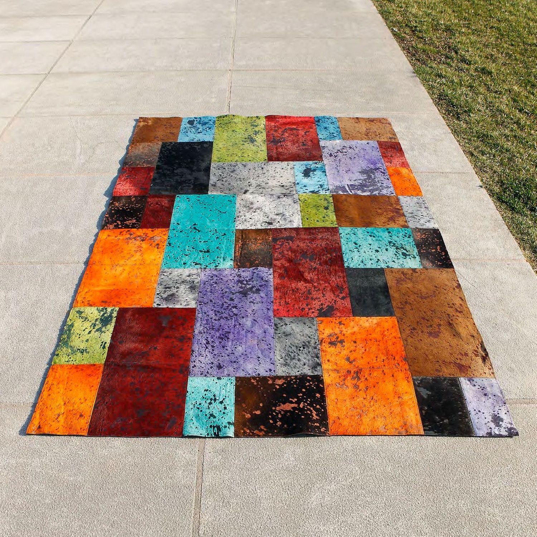 carving alfombra de piel moderna otto alfombra de piel moderna otto carving fabricada a mano - Alfombras Modernas