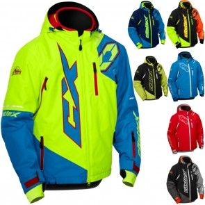 896ea7f3a97 Castle X Stance Back Country Mens Parkas Coats Skiing Sled Snowmobile  Jackets