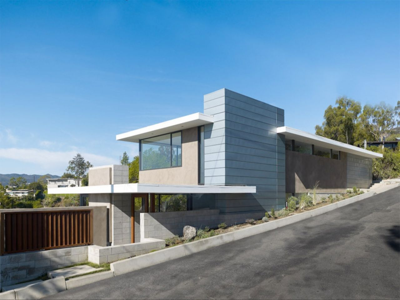California Modern House Plans Wooden Mid Century Modern House Mid Century Modern Exterior House Architecture Design
