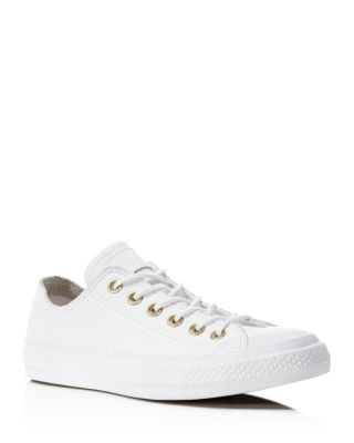 39759ea9d5c453 Converse Chuck Taylor All Star Perforated Low Top Sneakers ...