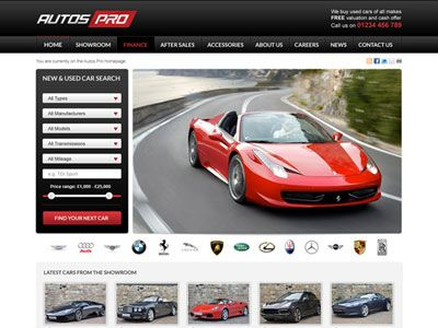 Autos Pro WordPress Automotive Repair Theme for Car Showroom ...