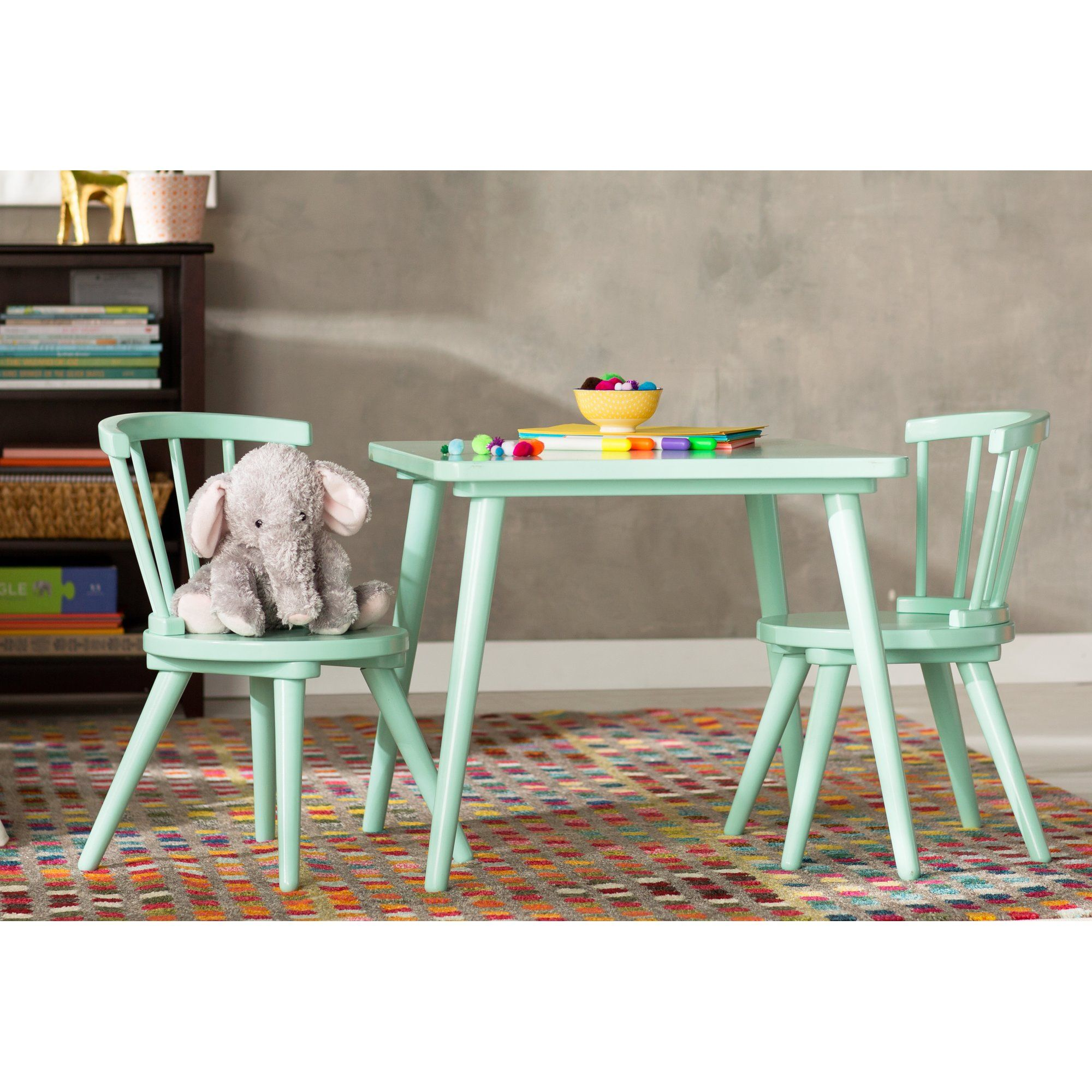 Justine Windsor 3 Piece Table and Chair Set by Delta   Windsor F.C. ...