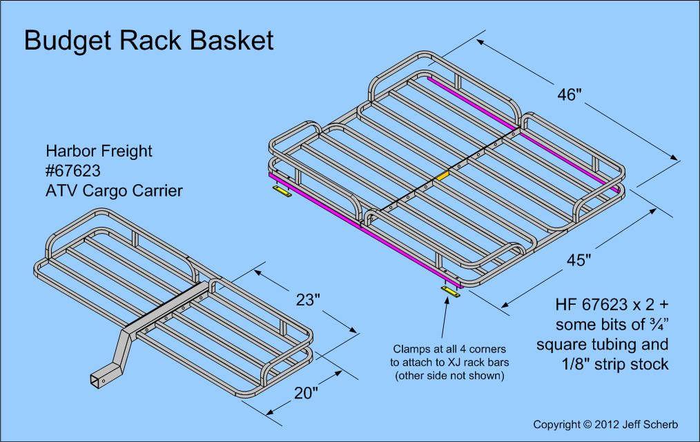 Fiberglass M416 M100 Military Style Trailer Tub Kit Page 7 Expedition Portal Roof Rack Car Roof Racks Roof Basket