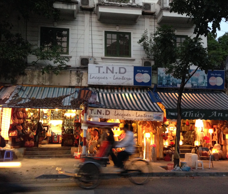 Em algum lugar de Hanoi